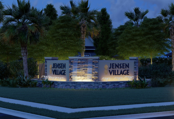 New homes in Jensen Village