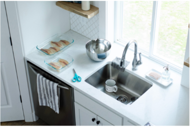 Caring for your kitchen countertops can mean different things, depending on what they're made of. In order to get you up to speed on everything you might need to know, let's take a look at a few cleaning and care tips you can use to keep your kitchen countertops in the best shape possible.